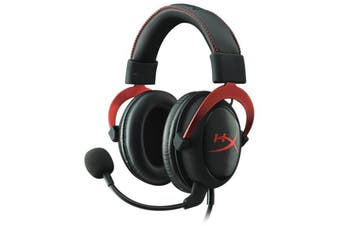 Kingston 3.5mm Wired HyperX Cloud II Pro Red Gaming Headset Headphone with Mic