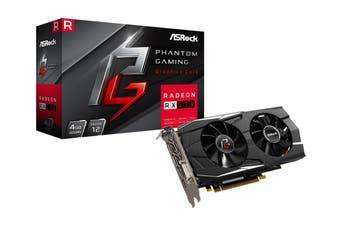 ASRock AMD Radeon RX 570 PHANTOM GAMING D 4GB Graphic Card GDDR5 HDMI DP 4K Professional Video Editing