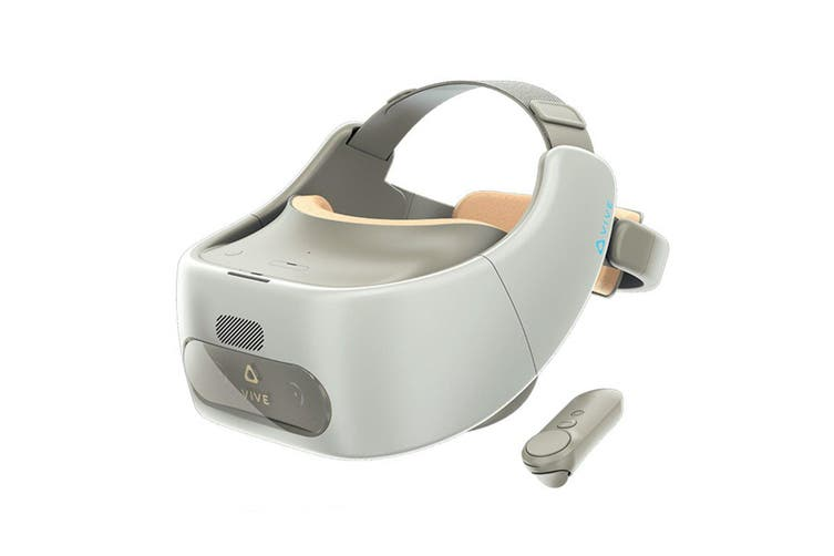 HTC Vive Focus Virtual Reality Headset 3K AMOLED VR Snapdragon 835 Speaker