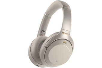 Sony WH-1000XM3 Bluetooth Wireless Over-Ear Headset Headphones Silver