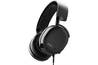 Steelseries Arctis 3 Wired Noise Cancellation Gaming Headset Headphone Black