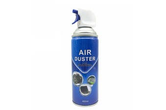 Air Duster Cleaner Multi-Purpose Compressed Gas Spray 400ML Eco-Friendly