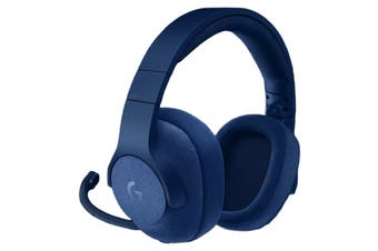 Logitech G433 Blue 3.5mm Over-Ear 7.1 Surround Gaming Headset Headphone