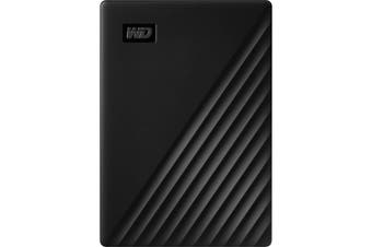 WD My Passport 4 TB Portable Hard Drive External HDD USB 3.2 Black