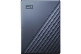 WD My Passport Ultra 4 TB Portable Hard Drive External HDD Type-C USB 3.0 Blue