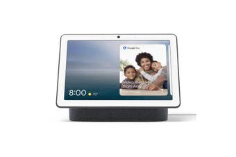 """Google Nest Hub Max 10"""" HD Touch Smart Display & Home Assistant Charcoal"""