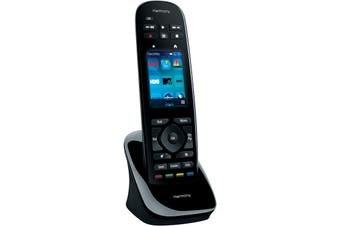 Logitech Touch Screen Remote Control Harmony Ultimate One Black