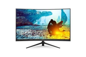 "Philips 322M8CZ 31.5"" VA 1ms 165Hz Full HD FreeSync Curved Gaming Monitor Tilt VESA"