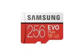 Samsung Mobile Evo Plus 256GB Micro UHS-I SDXC 100MB/s Class 10 Memory Card