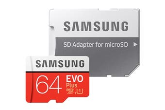 Samsung VO Plus 64GB Micro SD SDXC C10 100MB/s Tablet Smartphone Memory Card