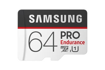 Samsung 64GB 100MB/s Micro SD SDXC Pro Endurance Video Memory Card w Adapter
