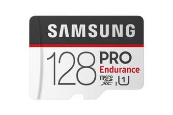 Samsung 128GB 100MB/s Micro SD SDXC Pro Endurance Video Memory Card w Adapter