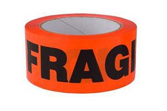 Fragile Printed Packaging Tape Thickness 45 Micron [75 metres x 48mm]