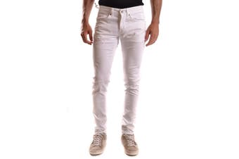 Dondup Men's Trousers In White