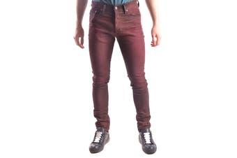 Diesel Men's Trousers In Bordeaux