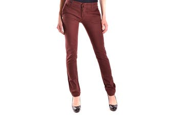 Daniele Alessandrini Women's Trousers In Bordeaux