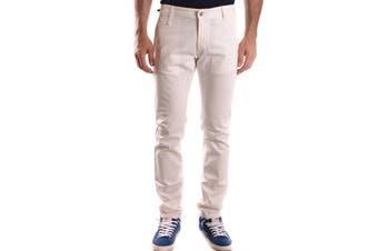 Daniele Alessandrini Men's Trousers In White