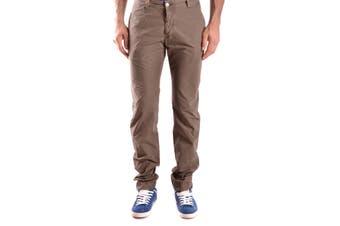 Daniele Alessandrini Men's Trousers In Brown