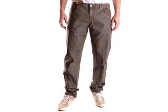 Carlo Chionna Men's Trousers In Brown