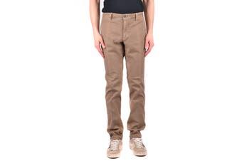 Incotex Men's Trousers In Brown