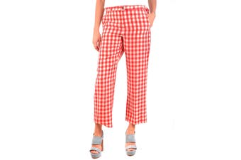 R.E.D. Valentino Women's Trousers In Red