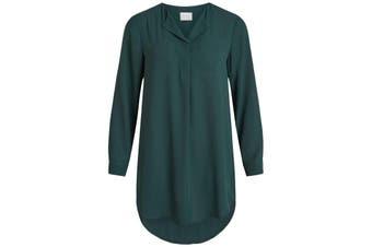 Vila Clothes Women's Dress In Green
