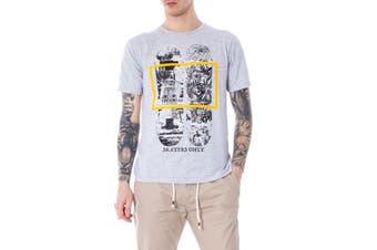 In My Hood Men's T-Shirt In Grey