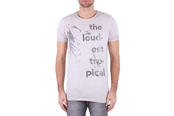 Absolut Joy Men's T-Shirt In Grey