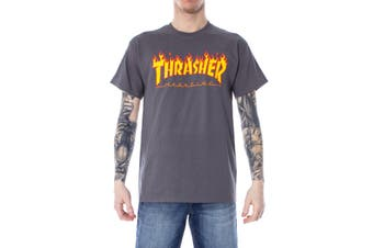 Thrasher Men's T-Shirt In Grey