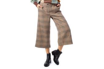 Vila Clothes Women's Trousers In Beige