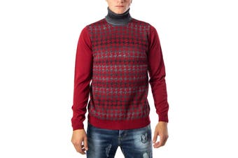 Hydra Clothing Men's Knitwear In Bordeaux