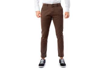 Brian Brome Men's Trousers In Brown