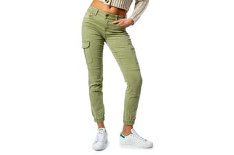 Only Women's Trousers In Green