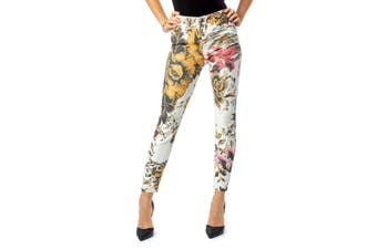 Desigual Women's Trousers In White