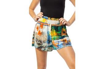 Desigual Women's Shorts In Multicolor