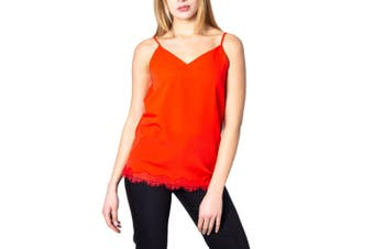 Emme Marella Women's Tank-Top In Coral