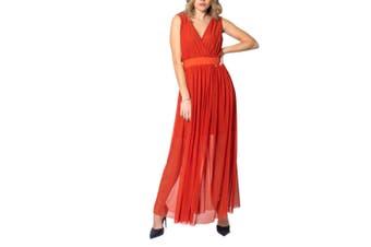 Ak Women's Dress In Red