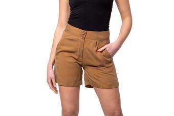 Ak Women's Shorts In Brown