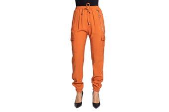 Ak Women's Trousers In Orange