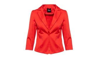 Ak Women's Blazer In Red