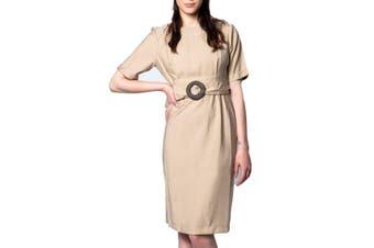 Ak Women's Dress In Beige