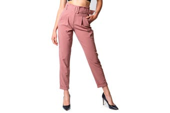 Only Women's Trousers In Pink