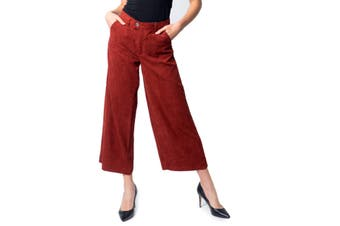 Only Women's Trousers In Red