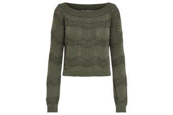 Only Women's Knitwear In Green