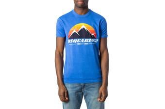Dsquared Men's T-Shirt In Light Blue