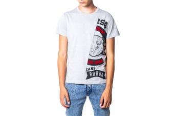 Versace Jeans Men's T-Shirt In Grey