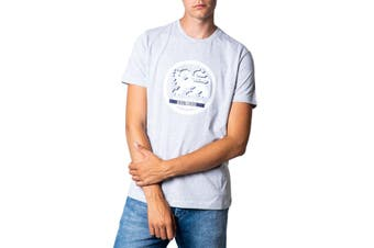 Bikkembergs Men's T-Shirt In Grey