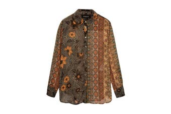 Desigual Women's Shirt In Brown