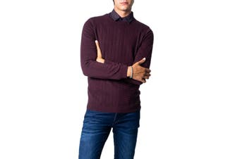 Antony Morato Men's Knitwear In Bordeaux