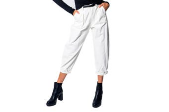 I Am Women's Trousers In White